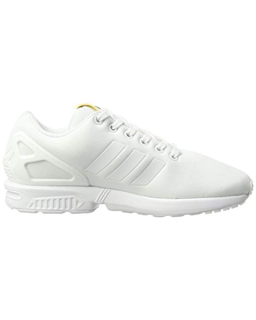 new concept 55404 c2b99 ... Adidas - White Zx Flux Low-top Sneakers - Lyst ...