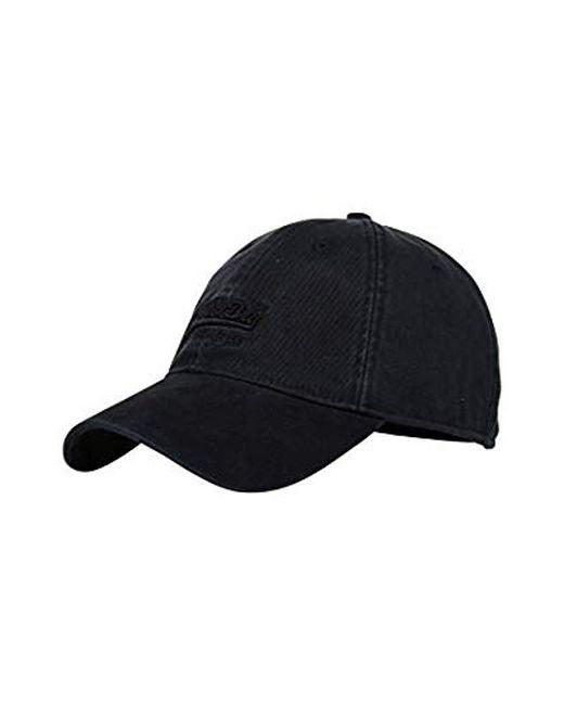 56e9f9e3dbd Superdry Baseball Cap in Black for Men - Lyst