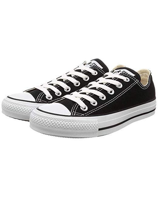 c947448a7 Converse - Black Chuck Taylor All Star Seasonal Canvas Low Top Sneaker for  Men - Lyst ...