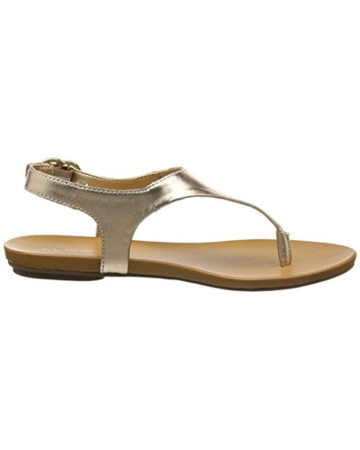 3ee70d3e0d6 ... Lyst ALDO - Metallic  s Jerilassi Ankle Strap Sandals ...