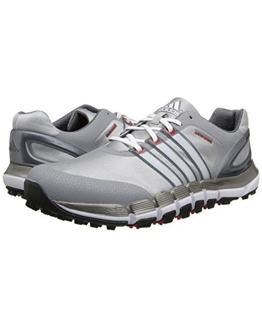 lyst adidas puro 360 gripmore sport scarpa da golf per gli uomini.