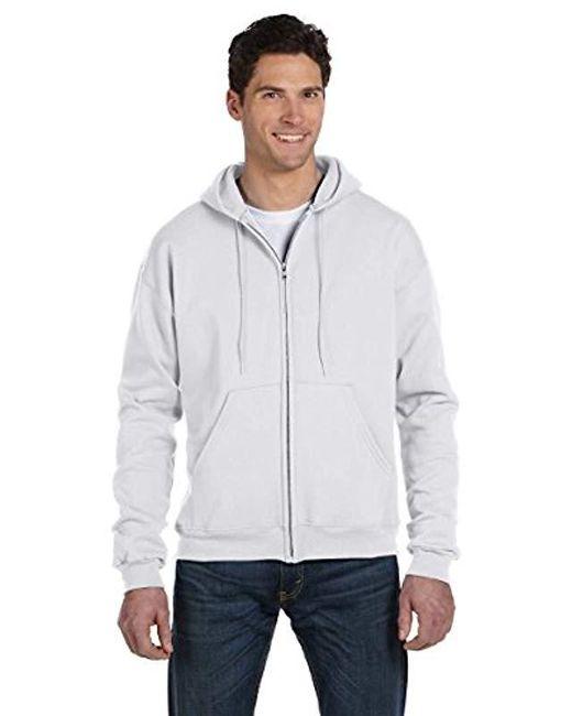 612e8dfd981f9 Champion - Gray Plus Size Fleece Pullover Hoodie - Lyst ...