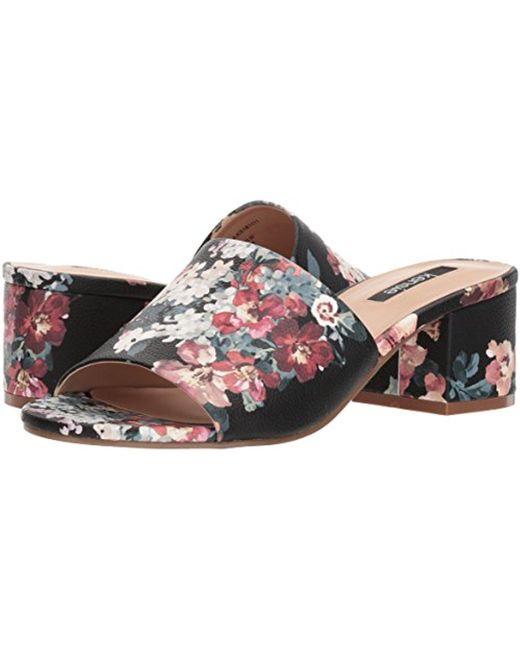 Women's Helina Slide Sandal Black Floral 8 M US