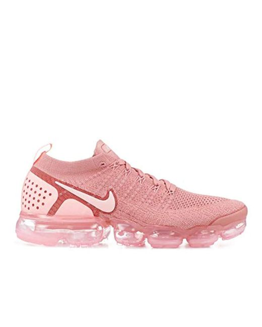 fd327e046146 ... Lyst Nike - Pink  s W Air Vapormax Flyknit 2 Competition Running Shoes  ...