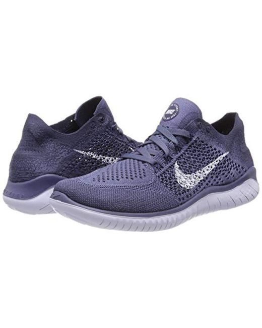 878bb1352842 Nike  s Free Rn Flyknit 2018 Running Shoes in Blue for Men - Save 28 ...