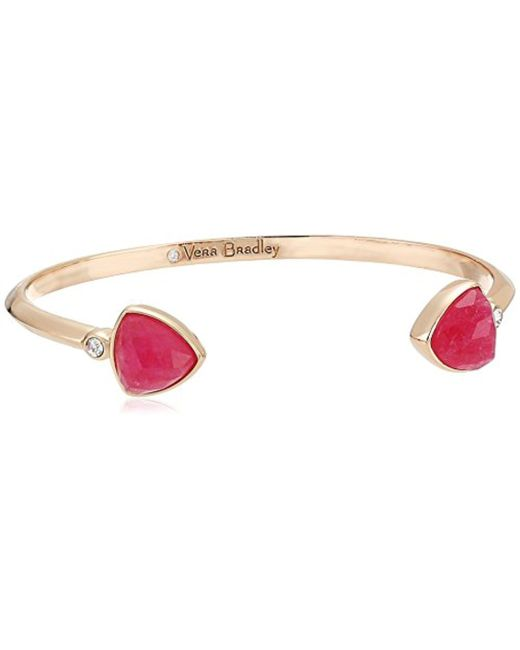 Vera Bradley - Metallic S Holiday Confetti Cuff Bracelet - Lyst