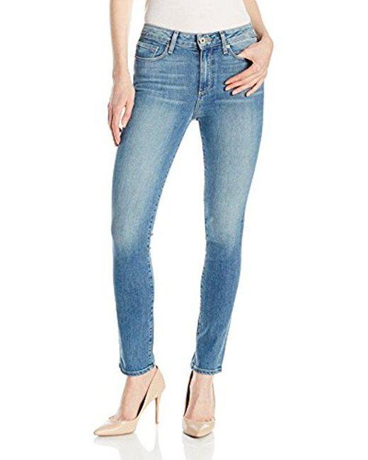 PAIGE - Blue Hoxton Ankle Peg Jeans-marielle - Lyst