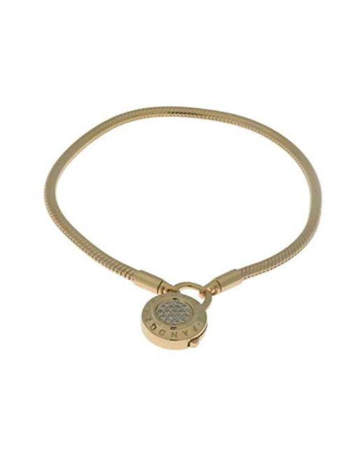 Pandora Multicolor Shine Logo Padlock Clasp Bracelet