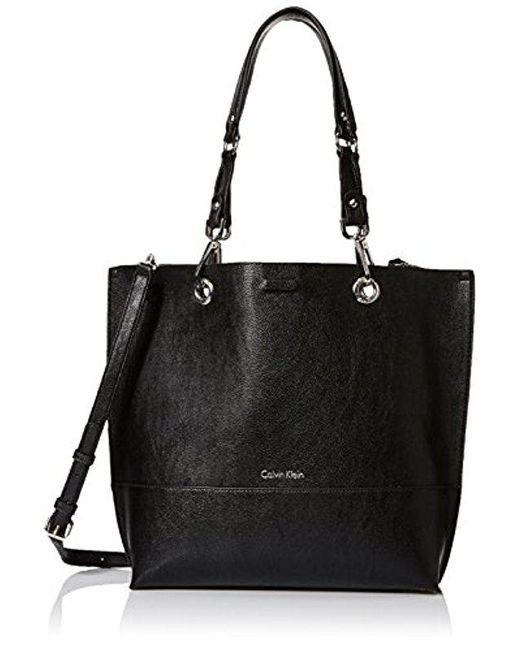 Calvin Klein - Black Reversible N/s Novelty Tote Bag - Lyst
