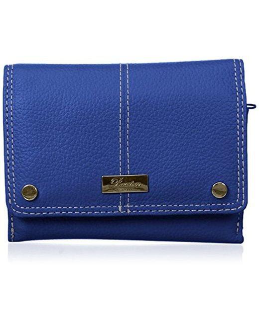 Buxton - Blue Westcott Multi Organizer Wallet - Lyst