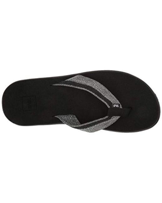 f0f7586e9c81 ... Teva - Black M Voya Flip Flops for Men - Lyst