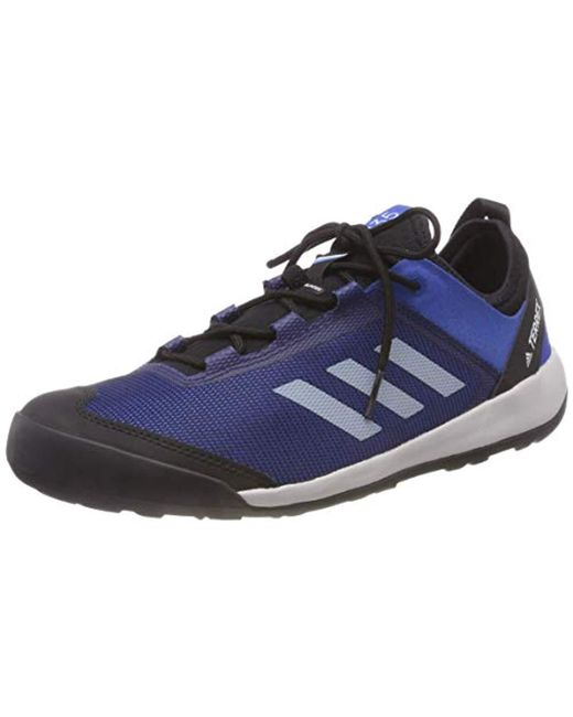 wholesale dealer a6d13 a2e71 Adidas - Blue s Terrex Swift Solo Cross Trainers for Men - Lyst ...