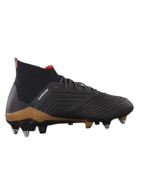 quite nice 741c7 bbf02 ... Adidas - Black Predator 18.1 Sg for Men - Lyst ...