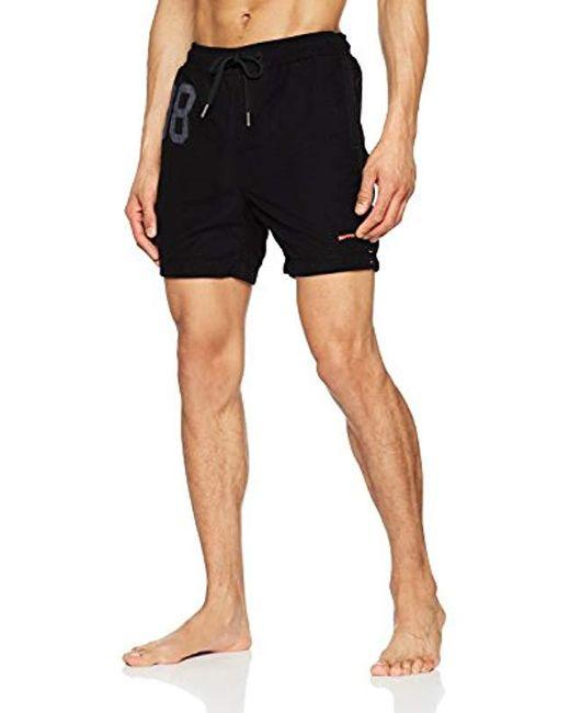 Superdry - Black Water Swim Shorts for Men - Lyst