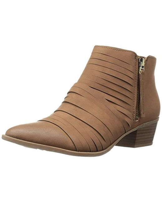 Circus by Sam Edelman - Brown Holden Ankle Bootie - Lyst