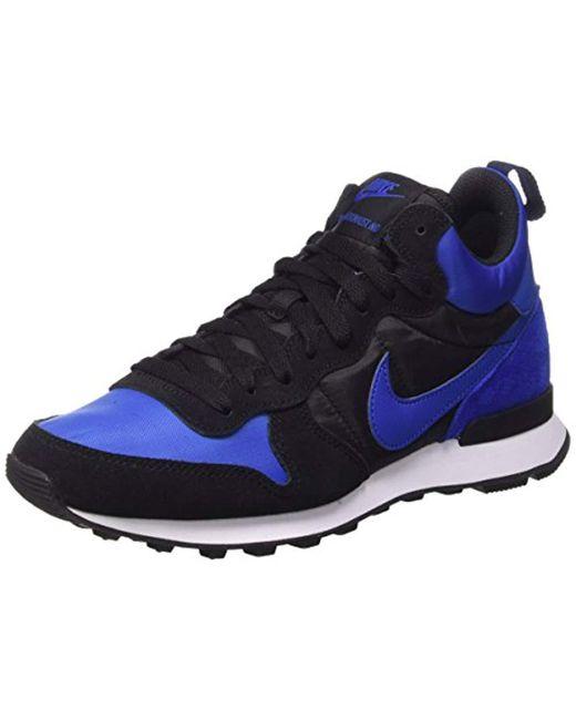 Nike - Blue Internationalist Mid, 's Sports Shoes for Men - Lyst