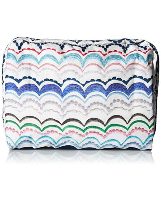 LeSportsac - Blue Classic Extra Large Rectangular Cosmetic Case - Lyst