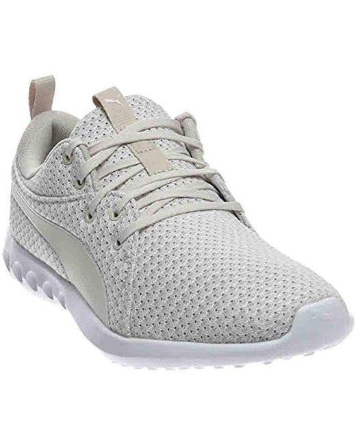 PUMA - White Carson 2 Knit Sneaker for Men - Lyst ... 245c2b671