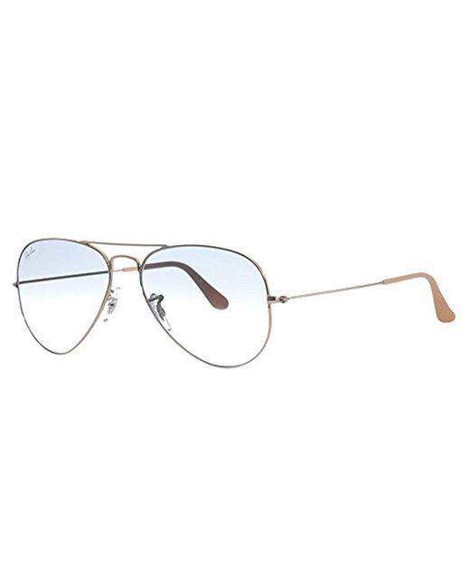 21d4de85277 Ray-Ban Rb3026 Aviator 2 Sunglasses 62mm in Metallic for Men - Save ...