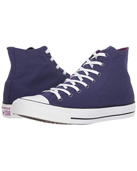 bf5911af97ac ... Converse - Blue Chuck Taylor All Star 2018 Seasonal High Top Sneaker  for Men - Lyst ...