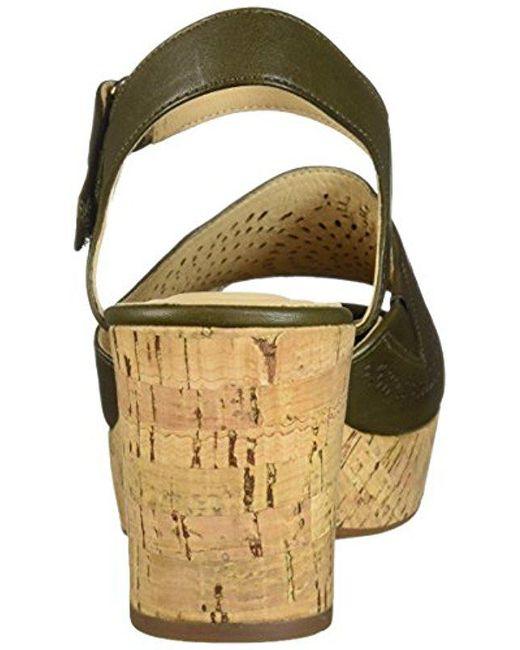f0388608814 ... Clarks - Multicolor Maritsa Nila Wedge Sandal - Lyst ...