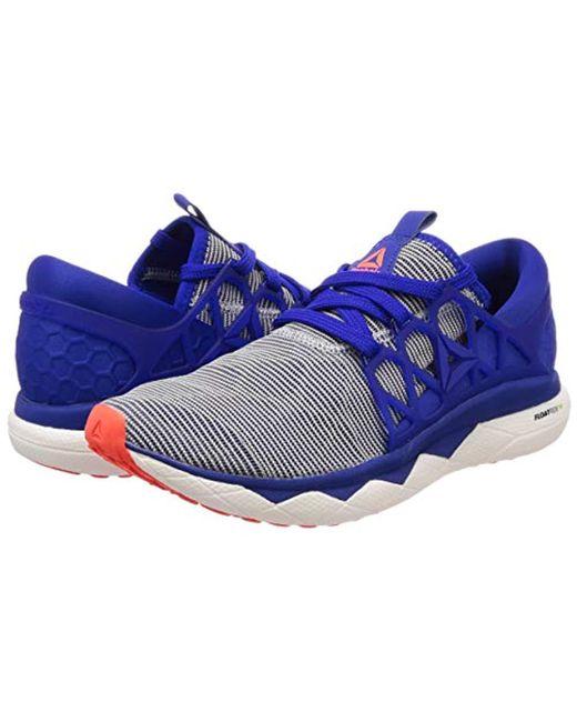 db2aa026da74 ... Reebok - Blue Floatride Run Flexweave Cross Trainers for Men - Lyst ...