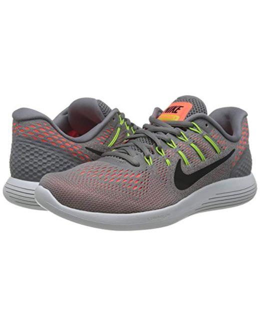 0256b2b935c ... Nike - Gray Lunarglide 8 Running Shoes for Men - Lyst ...
