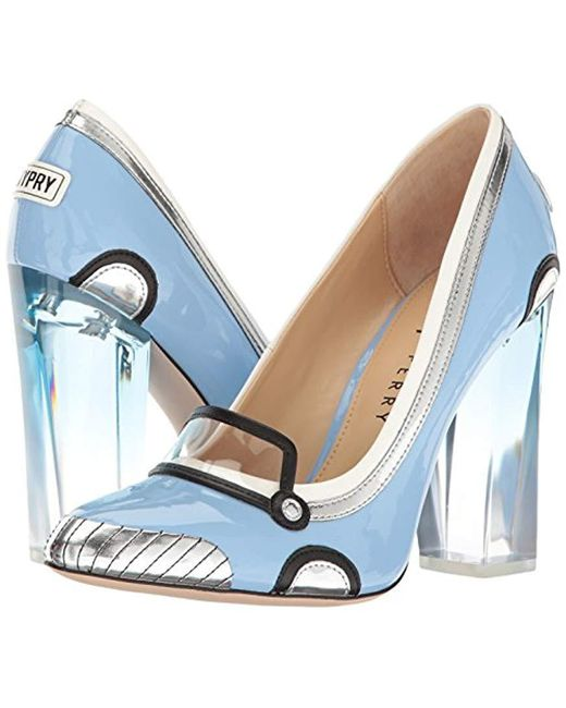 54bdb175931fdb ... Katy Perry - Blue The Thelma Heeled Sandal - Lyst ...