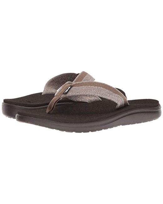 32171cbf7516 ... Lyst Teva - Brown  s M Voya Flip Flops for Men ...