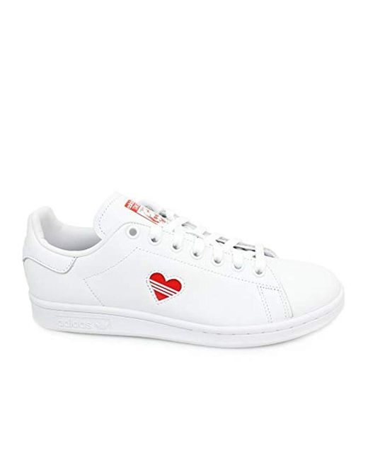 a802764b99b7 Adidas - White Stan Smith Low-top Sneakers - Lyst ...