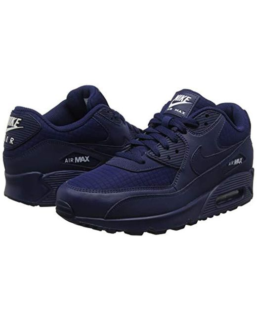 best service 9a8d9 538a8 ... Nike - Air Max 90 Essential Gymnastics Shoes, Blue (midnight Navy white  404 ...