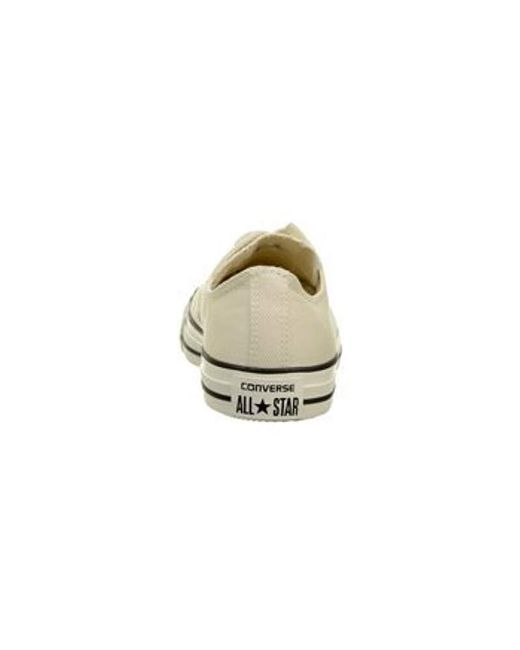dc675a7f4496 ... Converse - White Chuck Taylor All Star Washed Twill Ox for Men - Lyst  ...