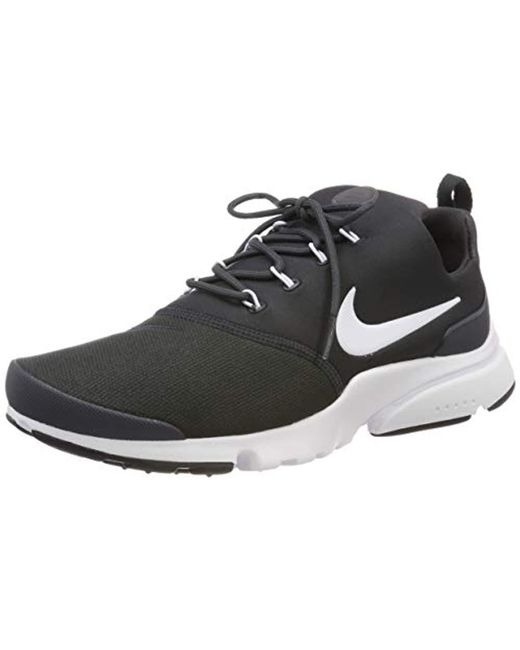 purchase cheap 75de0 28dd7 Nike - Black Presto Fly Fitness Shoes for Men - Lyst ...