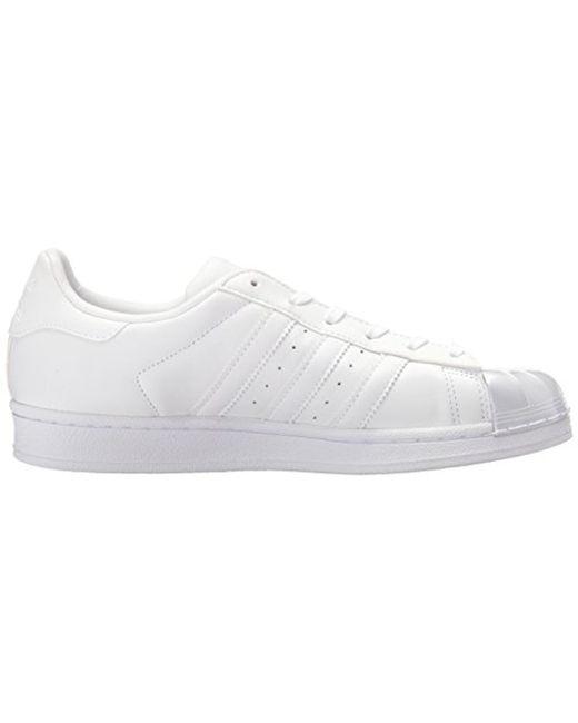 Lyst adidas Originals Superstar Glossy Toe Zapatillas de moda en blanco