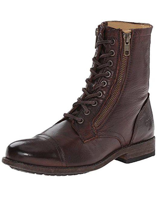 Frye - Brown Tyler Double Zip-svl Winter Boot - Lyst