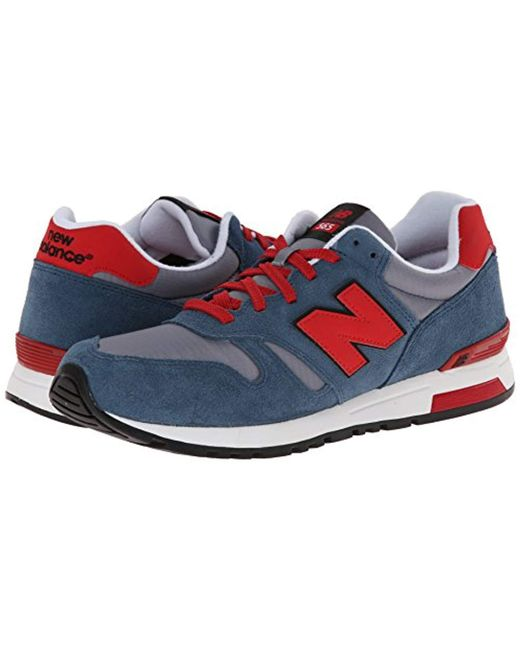 fd791afa6f885 ... New Balance - Blue Rip-stop Mesh 565, Trainers for Men - Lyst ...