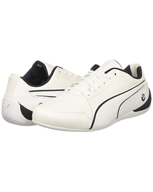 5c15e03ee05 Lyst - PUMA Bmw Ms Drift Cat 7 Sneaker in White for Men - Save 48%