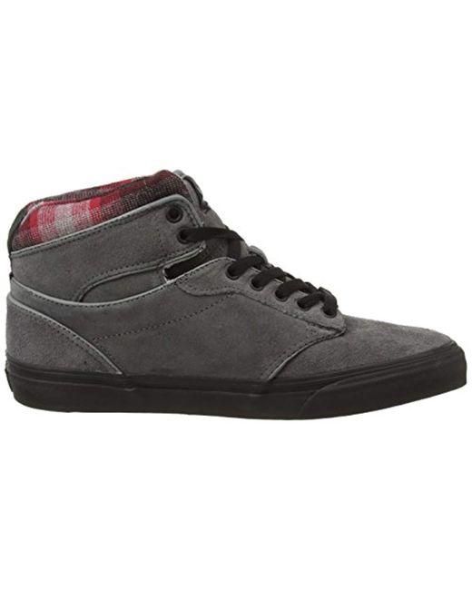 Vans M Atwood Deluxe, Herren Sneakers, Grau (10 Oz Canvas