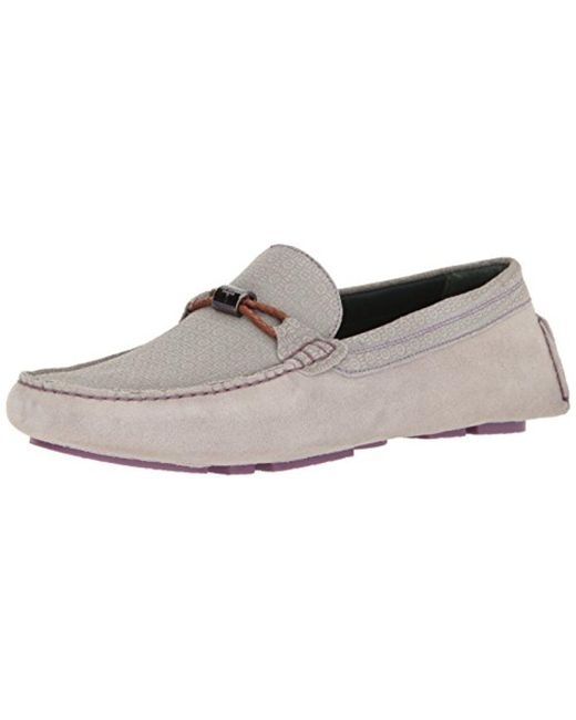 11616335df7 Lyst - Ted Baker Carlsun 2 Slip-on Loafer in Gray for Men - Save 36%