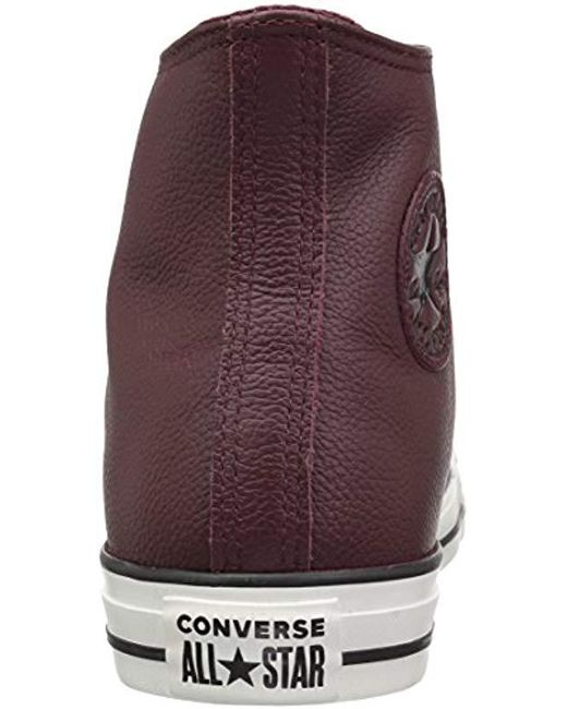 868b34690da7 ... Converse - Purple Chuck Taylor All Star Tumbled Leather High Top  Sneaker for Men - Lyst ...