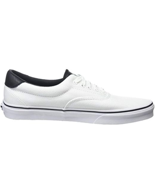 ... Lyst Vans - White Unisex Adults  Era 59 Low-top Sneakers for Men ... 3588c3980
