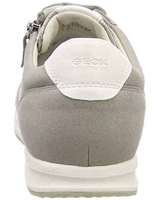db22fe7a103b ... Geox - Gray D Avery A Low-top Sneakers - Lyst ...