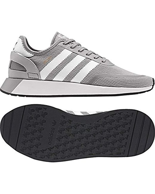 980053c29bb ... Adidas - Gray Iniki Runner Cls Gymnastics Shoes for Men - Lyst ...