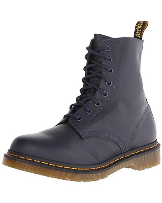 6a3c866dd60d Dr. Martens - Multicolor Pascal Leather Combat Boot for Men - Lyst ...