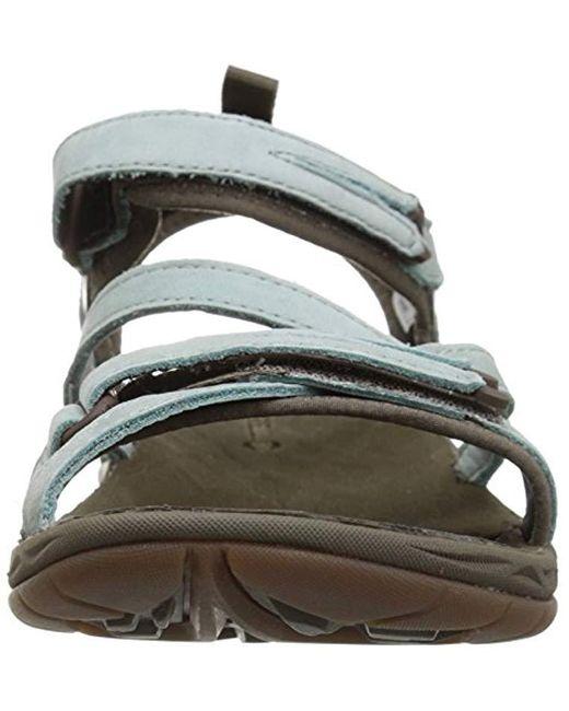 da37f2446012 ... Merrell - Blue Siren Strap Q2 Athletic Sandal - Lyst ...