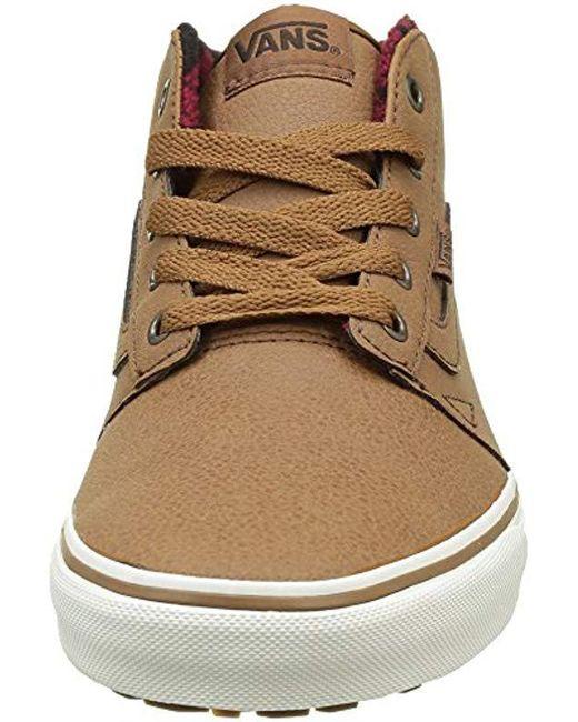 0f162294ca ... Vans - Brown Chapman Mid Mte Low-top Sneakers for Men - Lyst ...