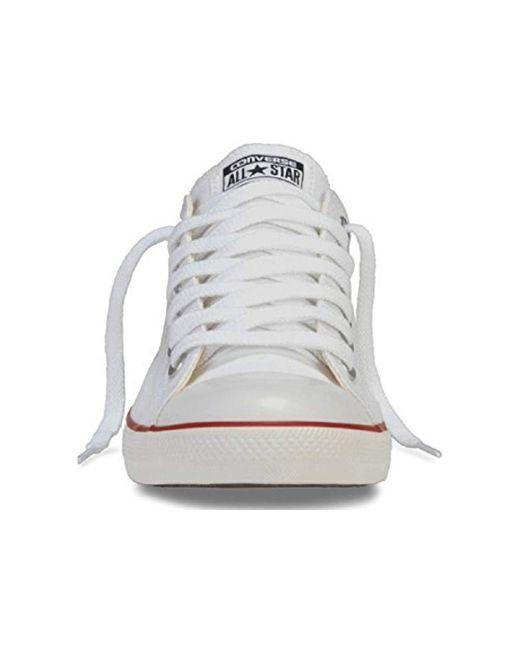 71ddc0584093 ... Converse - White Unisex Chuck Taylor All Star Ox - Lyst ...