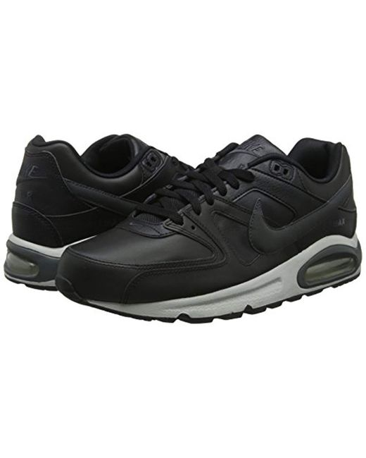 16801d413d96 Nike  s Air Max Command Leather Sneakers in Black for Men - Save 3 ...