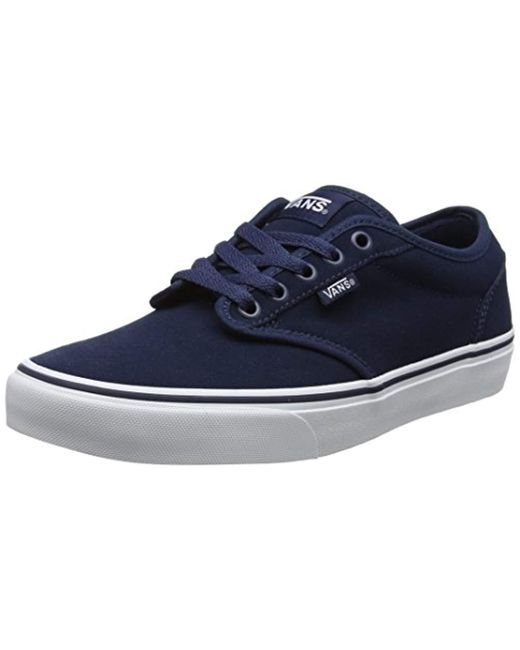 4747674154 Vans - Blue Atwood Trainers for Men - Lyst ...