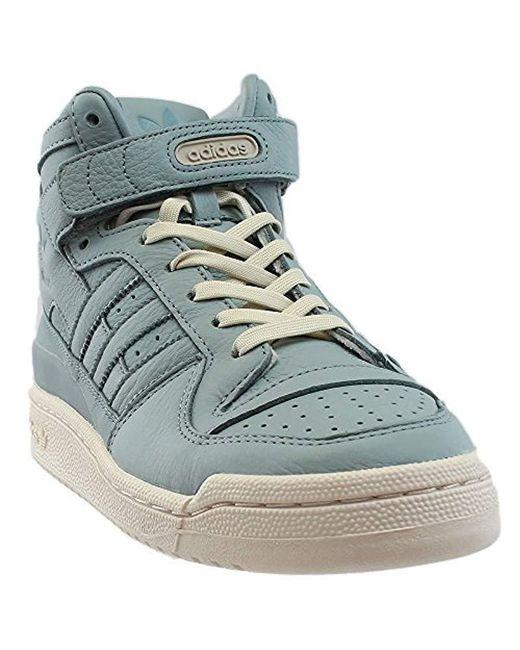 Lyst adidas Originals Forum Mid refinado Fashion zapatilla en azul
